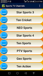 Sports TV Channels Live - screenshot