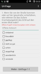ntq.Umfrage - screenshot