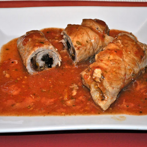 Veal Rolls Stuffed with Caramelized Shallots