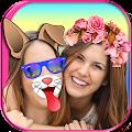 App Cute Selfie Cam Photo Stickers apk for kindle fire