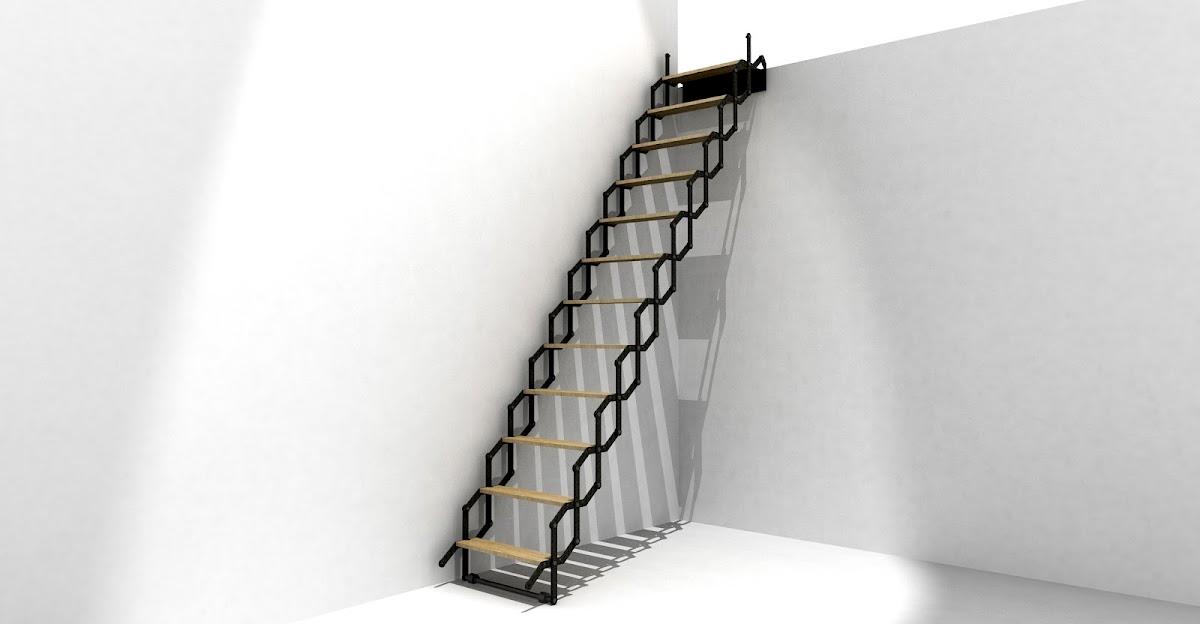 Escalera plegable for Escaleras 7 escalones