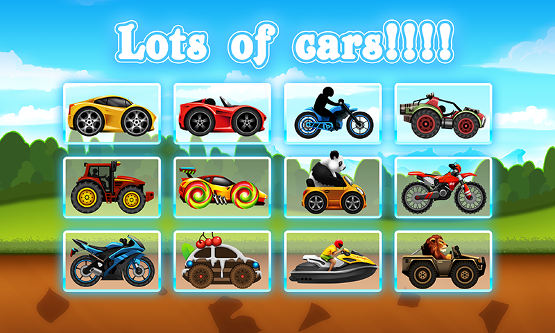 Fun Kid Racing Android App Screenshot