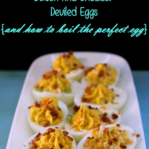 Bacon and Cheddar Deviled Eggs