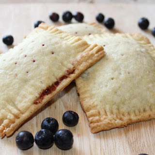 Vegan Adaptable Blueberry Poptarts with a Vanilla Glaze