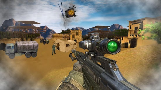 Sniper Desert Action- screenshot thumbnail
