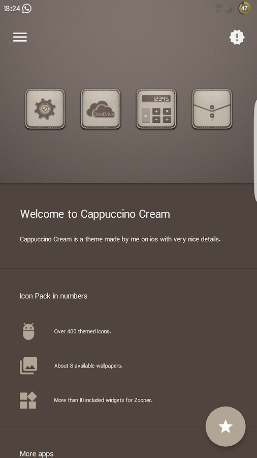 Cappuccino Cream Screenshot 3