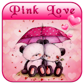 Pink Love Bear Theme APK for Ubuntu