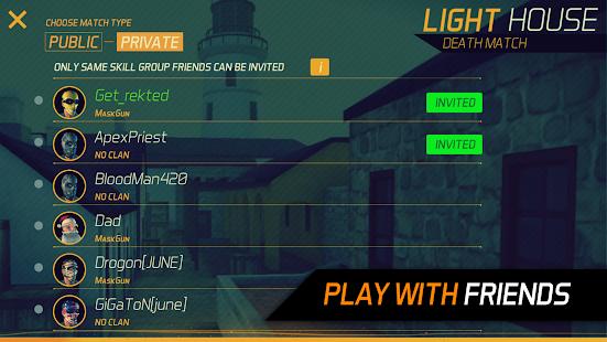 Game MaskGun ® - Multiplayer FPS apk for kindle fire