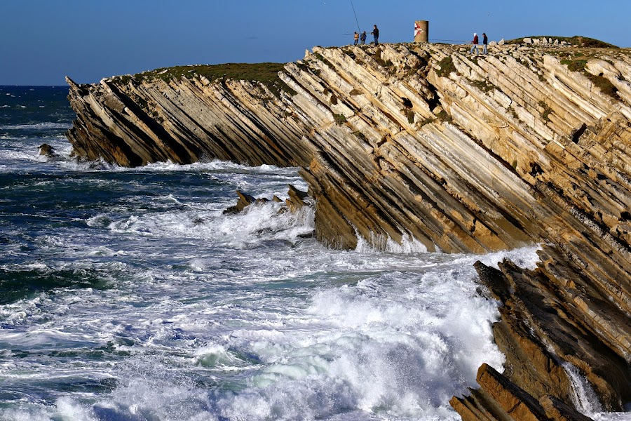 Cliffs by Gil Reis - Nature Up Close Rock & Stone ( life, nature, sea, places, travel, rocks )