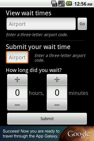 Airport Security Timer screenshot 2