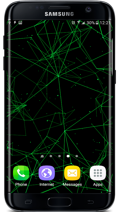 Particle Plexus Live Wallpaper Screenshot 3