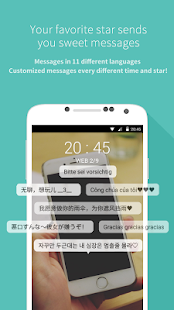 App Mydol- Lockscreen, Virtual chat apk for kindle fire