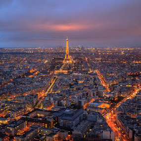 Paris by Marek Biegalski - City,  Street & Park  Skylines