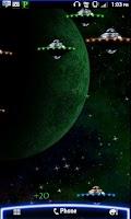 Screenshot of Alien Attack! LWP PAID