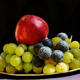 fruits on the saucer by LADOCKi Elvira - Food & Drink Fruits & Vegetables