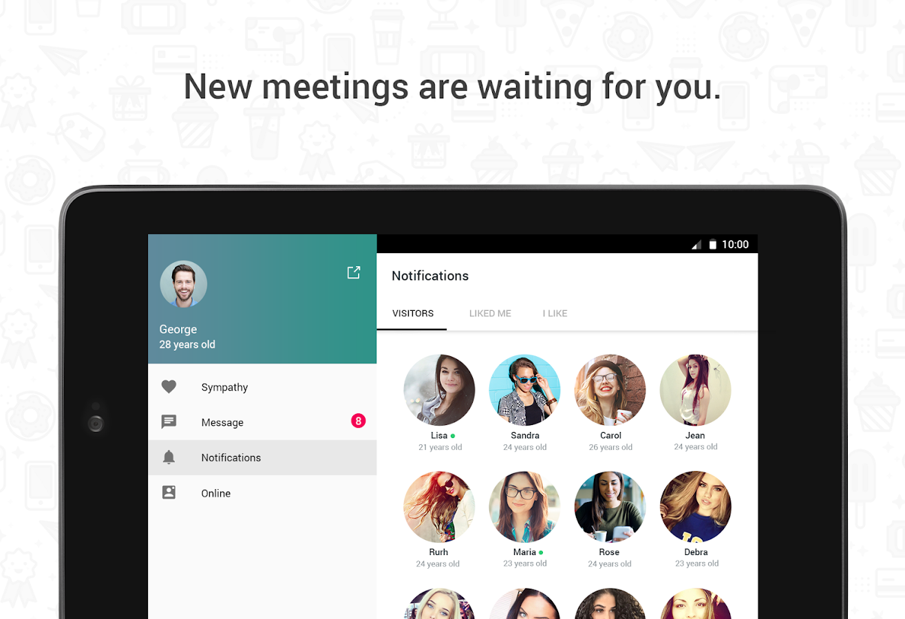 Hitwe - meet people for free Screenshot 6