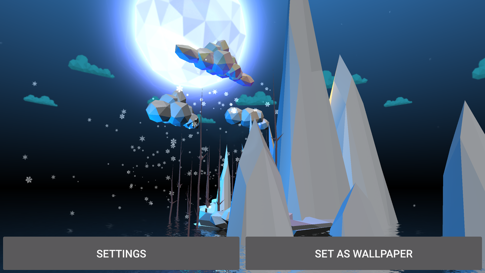 Poly Island 3D Live Wallpaper Screenshot 11