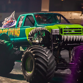 Swamp Thing by Mike Newland - Transportation Automobiles
