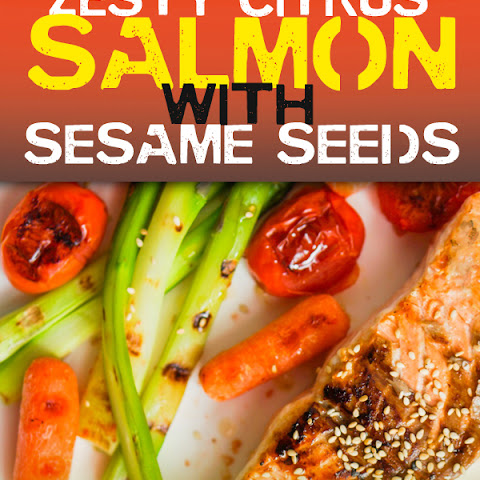Zesty Citrus Salmon with Sesame Seeds