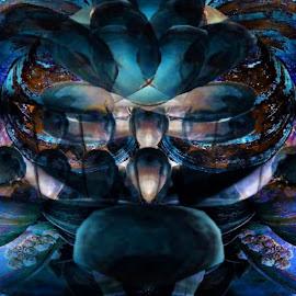 by Austin Lubetkin - Digital Art Abstract