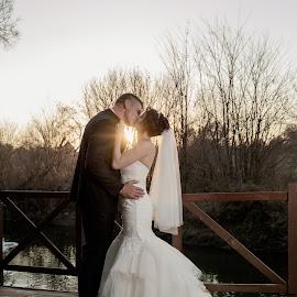 The Kiss by Ellen Strydom - Wedding Bride & Groom