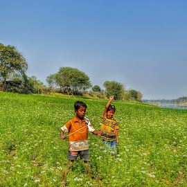 OUTDOOR SUMMER SHOTS by Soumyabrata Roy - Babies & Children Children Candids