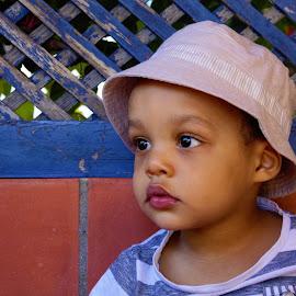 Serious little boy by Cristina Nunes - Babies & Children Child Portraits