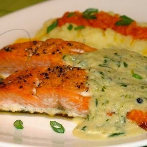 Trout In Creamy Sauce