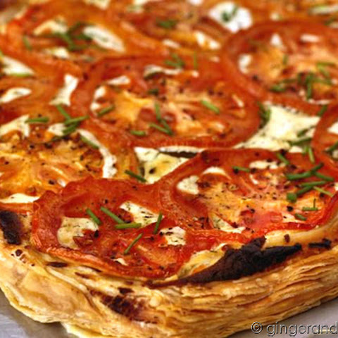 Roasted Tomato and Goat Cheese