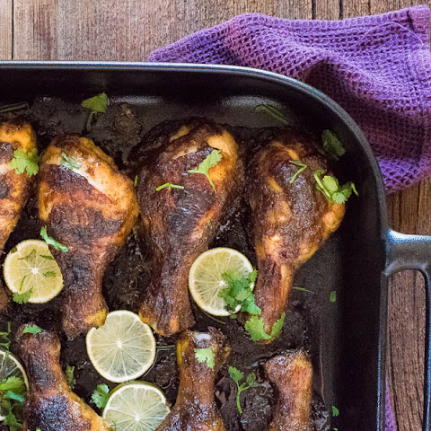 Jamaican Jerk Chicken Drumsticks with REVOL