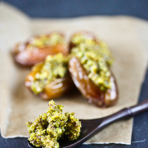 Fresh Dates Stuffed with Orange-Scented Pistachios