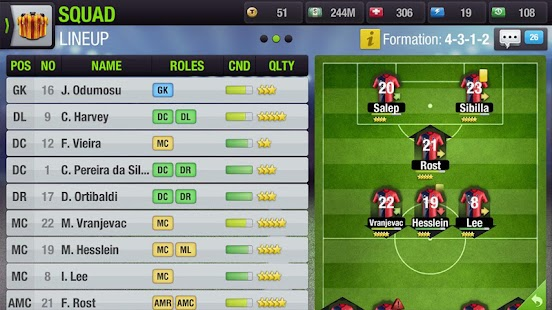 Game Top Eleven Be a Soccer Manager APK for Kindle
