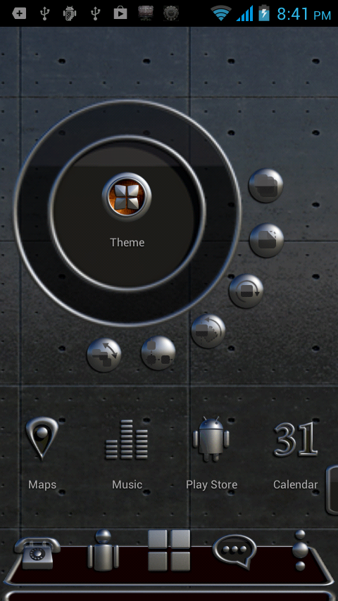 BERLIN Next Launcher 3D Theme Screenshot 1