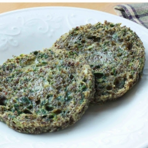 Spinach & Flax Microwave Muffin
