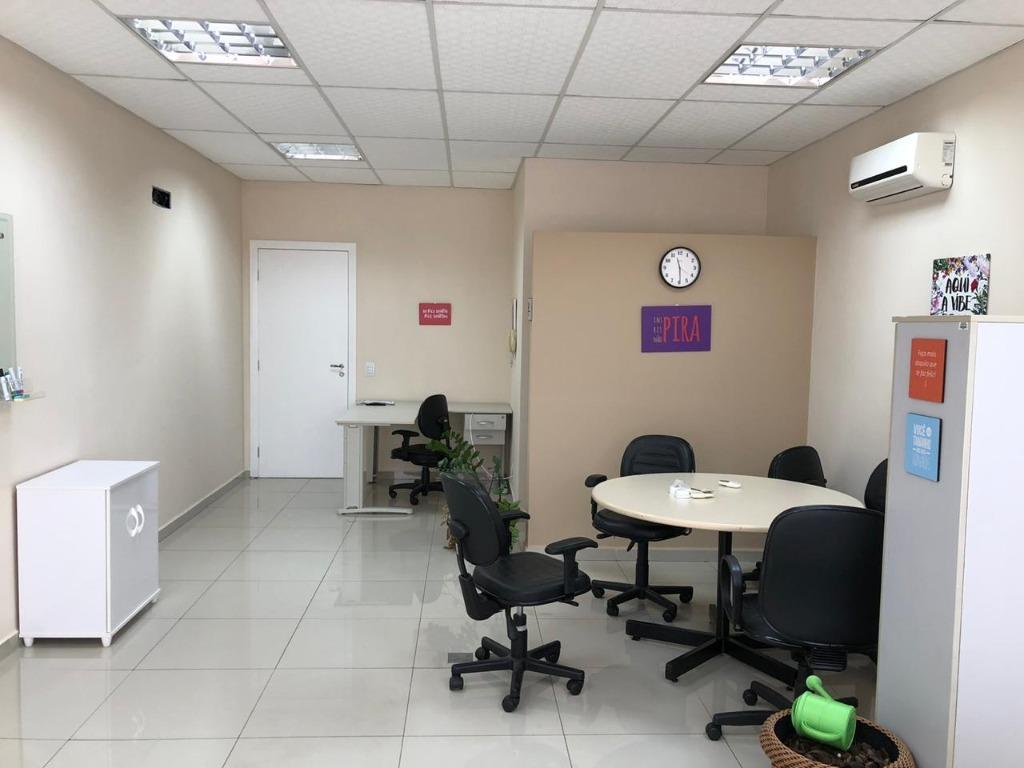 Sala, 40 m² - venda por R$ 260.000,00 ou aluguel por R$ 1.800,00/mês - Residencial Terras do  Paiquerê  - Valinhos/SP