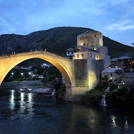 Old Bridge Mostar by Almas Bavcic - Buildings & Architecture Other Exteriors