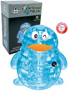3D Crystal Puzzle Пингвин XL Светильник