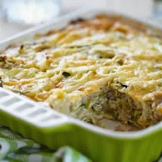 Cabbage Casserole With Meat
