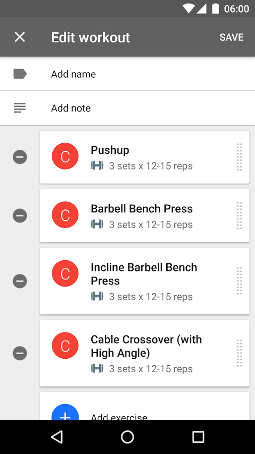 Progression - Fitness Tracker Screenshot 1