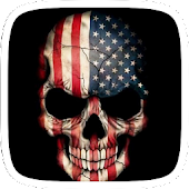 America Skull Theme APK for Ubuntu