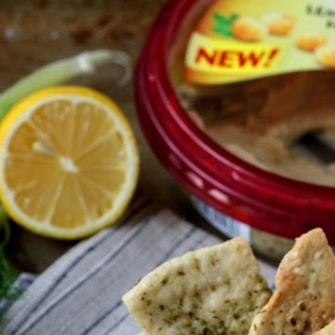 Sabra's Lemon Twist Hummus With Roasted Fennel & Hazelnuts
