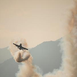Volo del follo by Mauro Amoroso - Transportation Airplanes