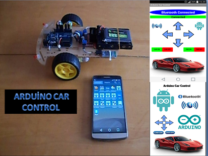 Arduino Car Control - screenshot