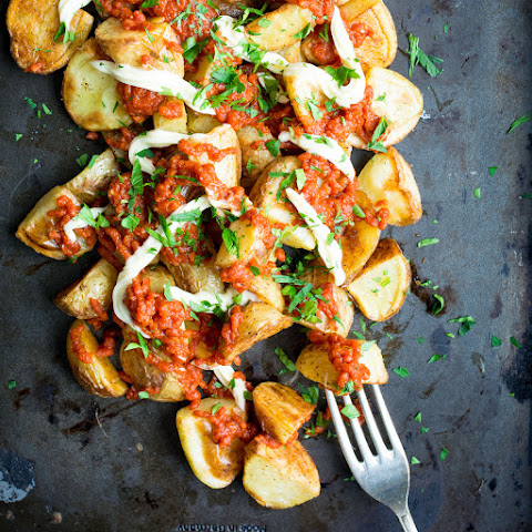 Lightened Up Patatas Bravas (Spanish Potatoes)