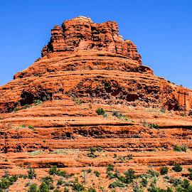 Bell Rock by David Walters - Landscapes Deserts ( canon, az, desert, red, bell rock, sedona, rocks )