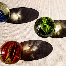 Marble fun by Pierre Tessier - Artistic Objects Glass ( marbles,  )