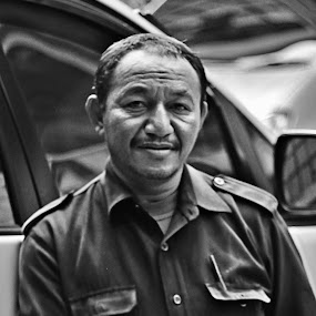 driver by Budie Deathlust - People Portraits of Men ( b/w photography man men people portrait )