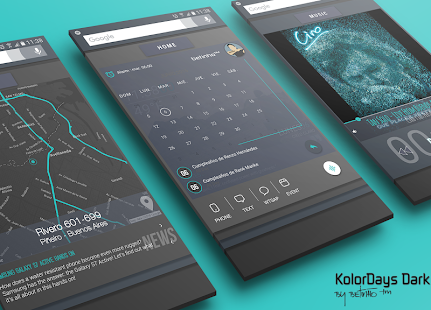 KolorDays for Klwp- screenshot thumbnail