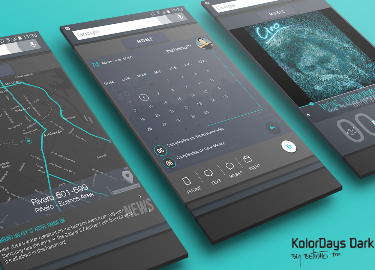 KolorDays for Klwp Screenshot 7