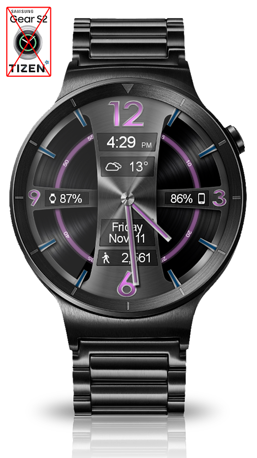 Avionic Depth HD Watch Face Screenshot 4